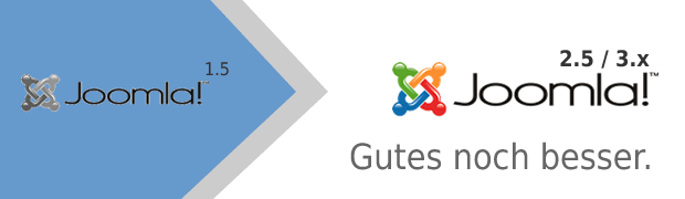 Joomla! 1.5 Migration / Upgrade / Update